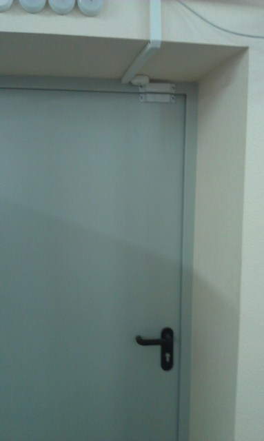 В ЦОД-е установлены противопожарные двери