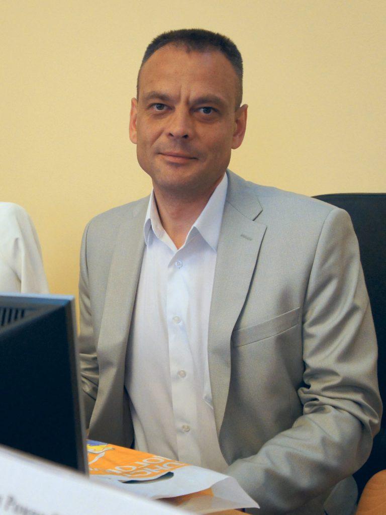 Обухов Андрей Владимирович приветствует участников конференции от лица руководства компании ООО «Зуммер»