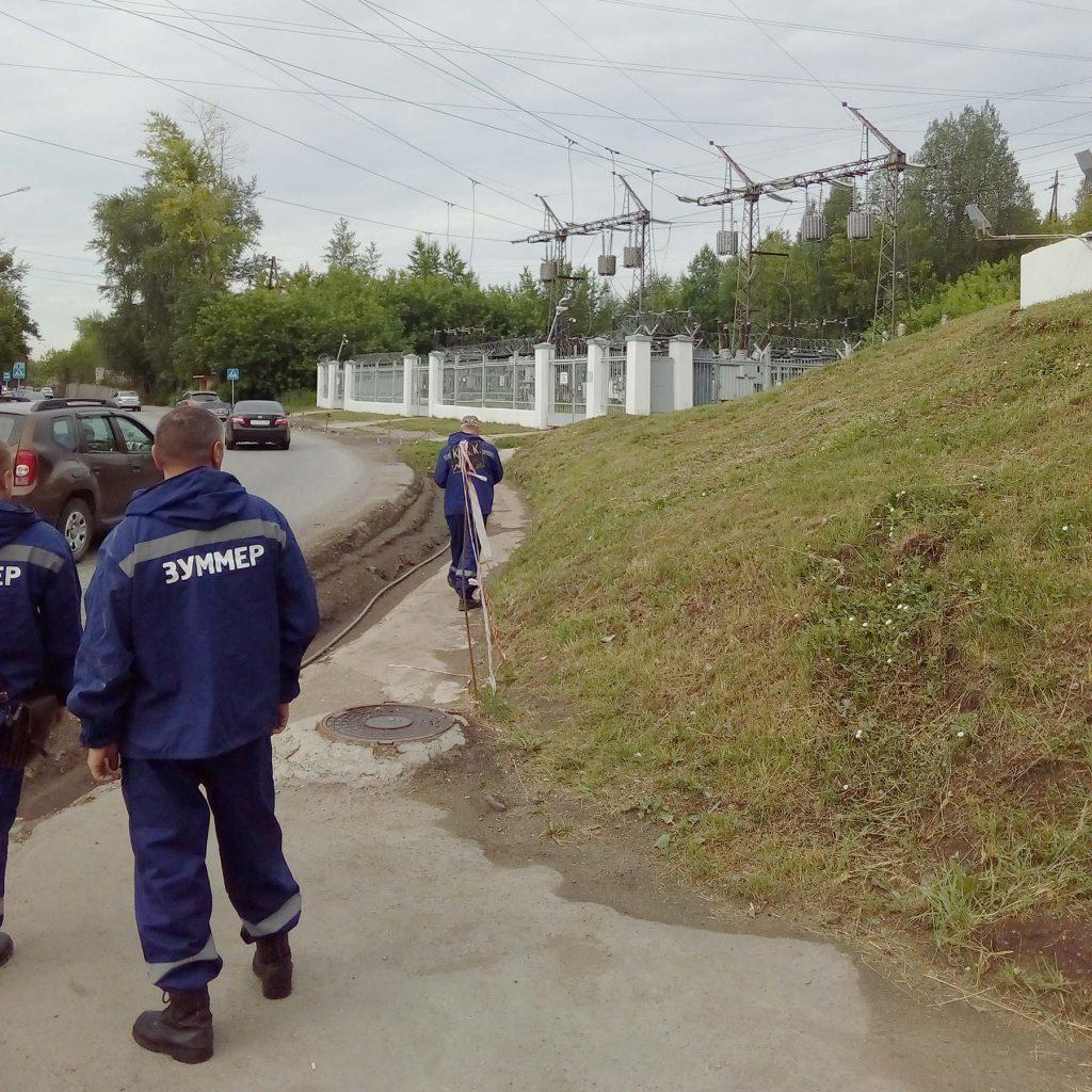 «Зуммер» осуществил перенос ВОЛС через Каму, по опорам линий электропередачи ПАО «Русгидро» филиал Камская ГЭС