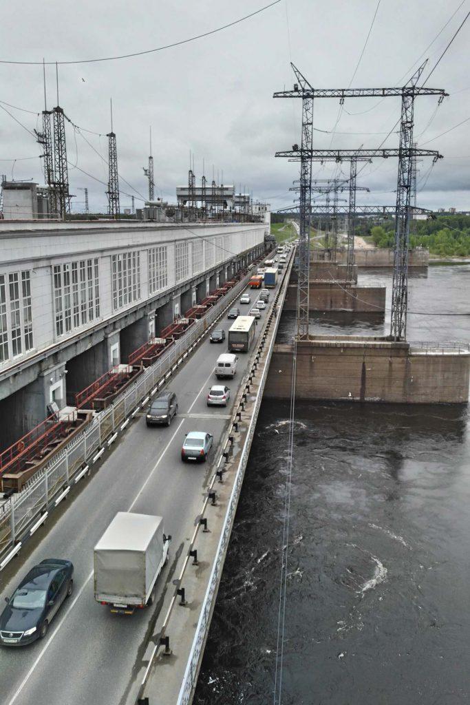 Протяженность перехода ВОЛС через Каму составила два километра