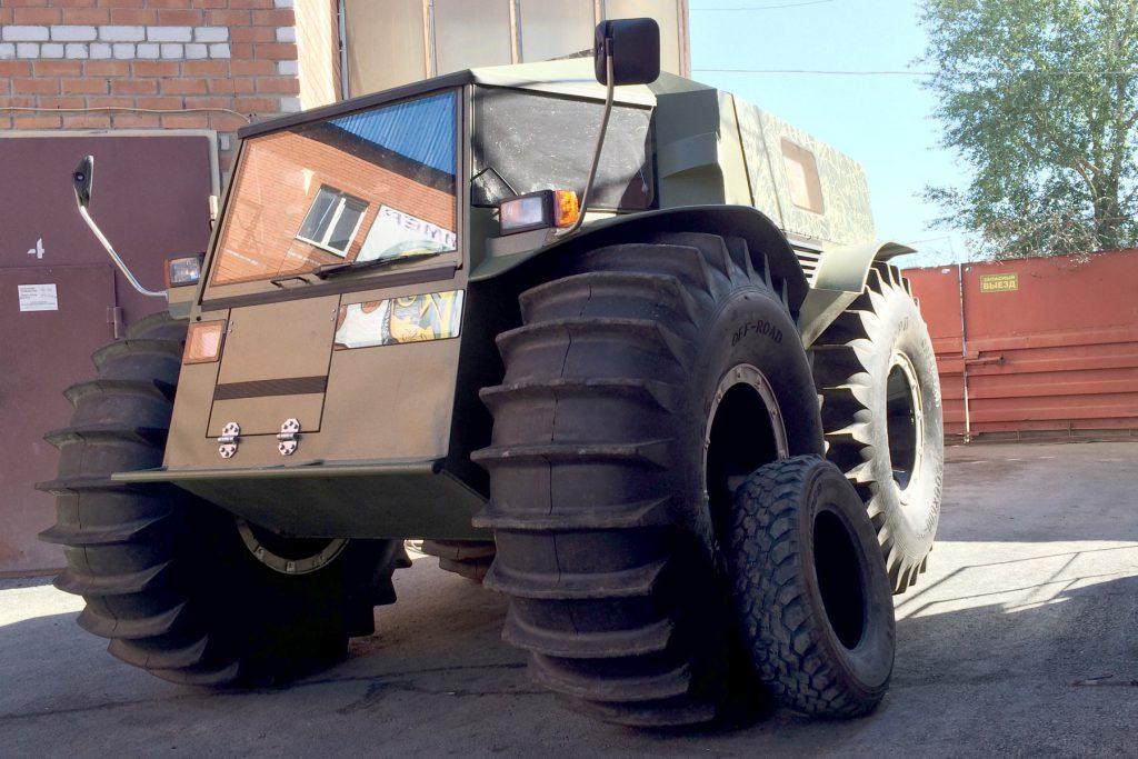 Диаметр колеса «Шерпа» 160 см