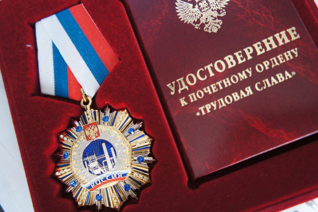 Директор ООО «Зуммер» Михаил Владимирович Троцкий награжден орденом «Трудовая слава»