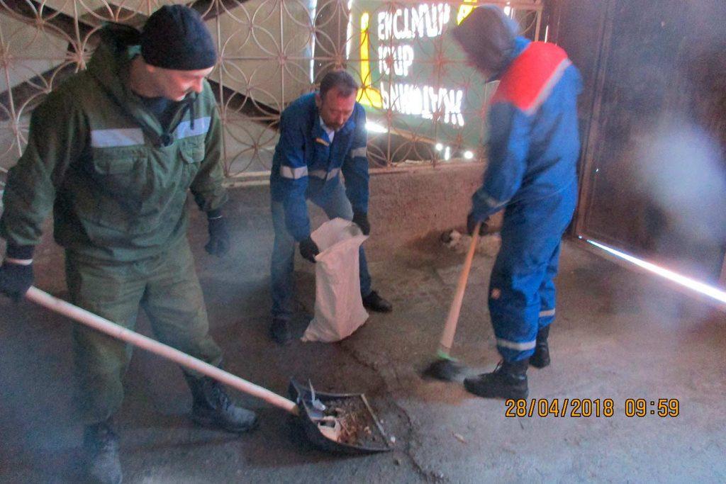 Субботник коллектива «Зуммер» в Сургуте