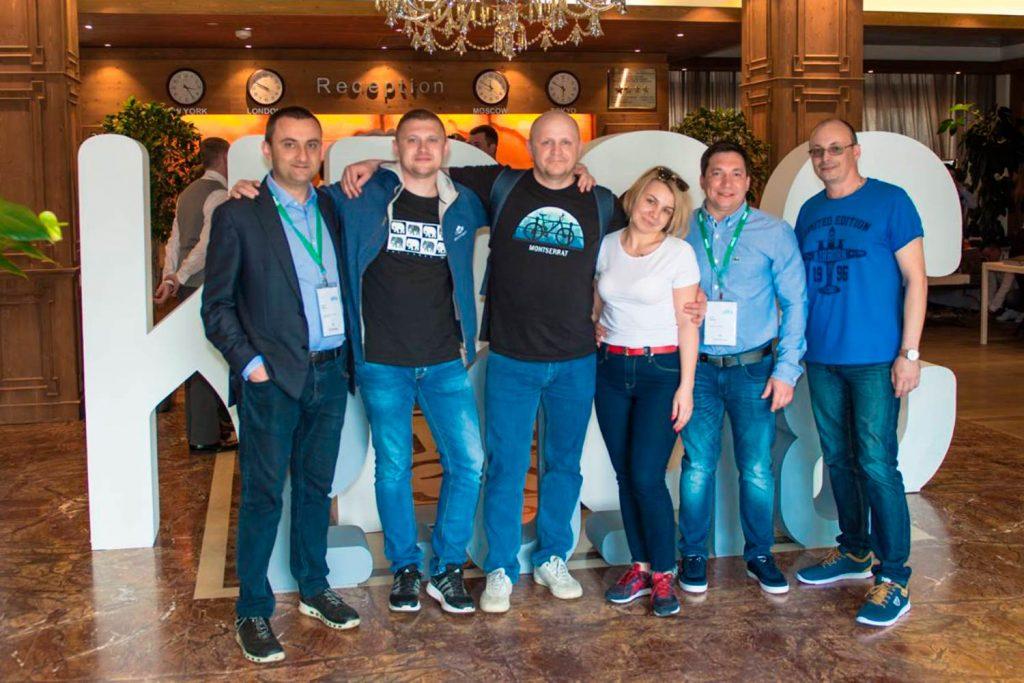 Представители компании НАГ, ООО «Зуммер», ООО «Северное волокно». Фото: nag.ru