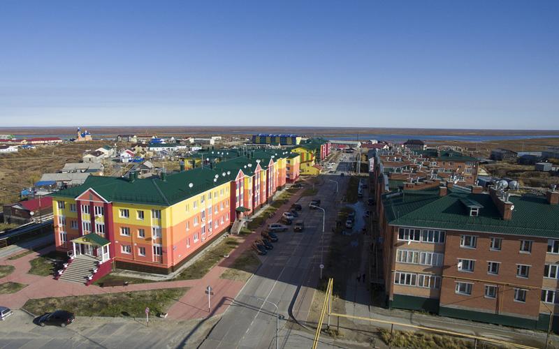 Поселок Тазовский (фото: interfax.ru)