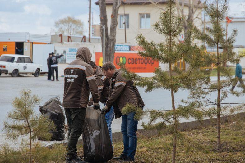 Коллектив ООО «Зуммер» провел ежегодный субботник